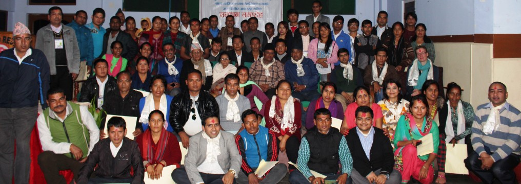 Participants of Eight days Mediation and Dialogue Facilitation's Closing Session at Hetauda
