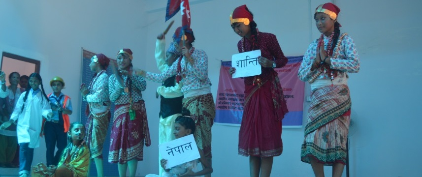 School level cultural program for sustainable peace and harmony in Gauribas, Mahottari