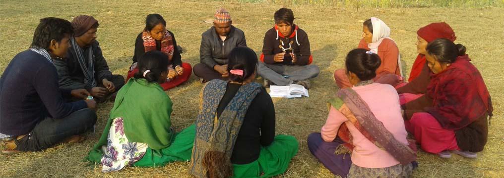 Social Dialogue Group Meeting in Purandhara, Dang