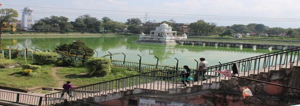 Ranipokhari's view after Pro Public's successful litigation on removal of huts, around pond, from Supreme Court of Nepal