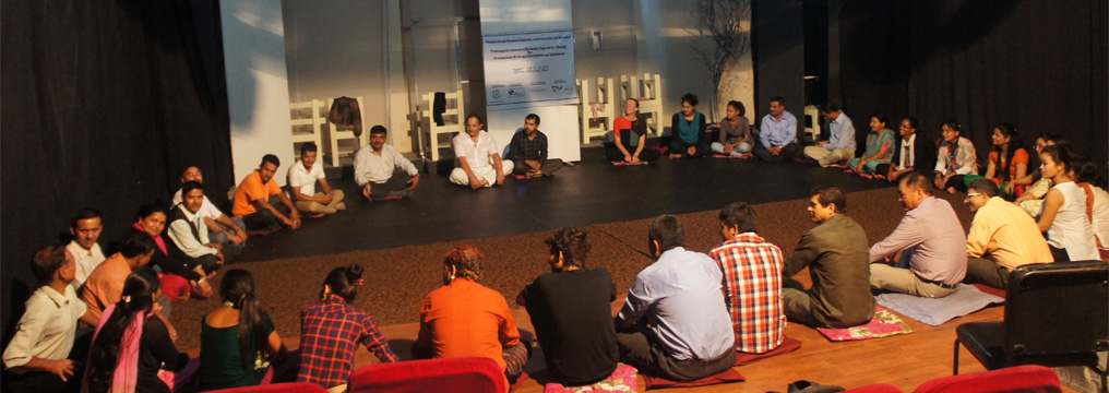 Training on Emotional Expression and Relaxation at Kathmandu